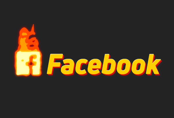 Facebook animated icon