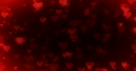 Hearts Galore - HD Video Background Loop